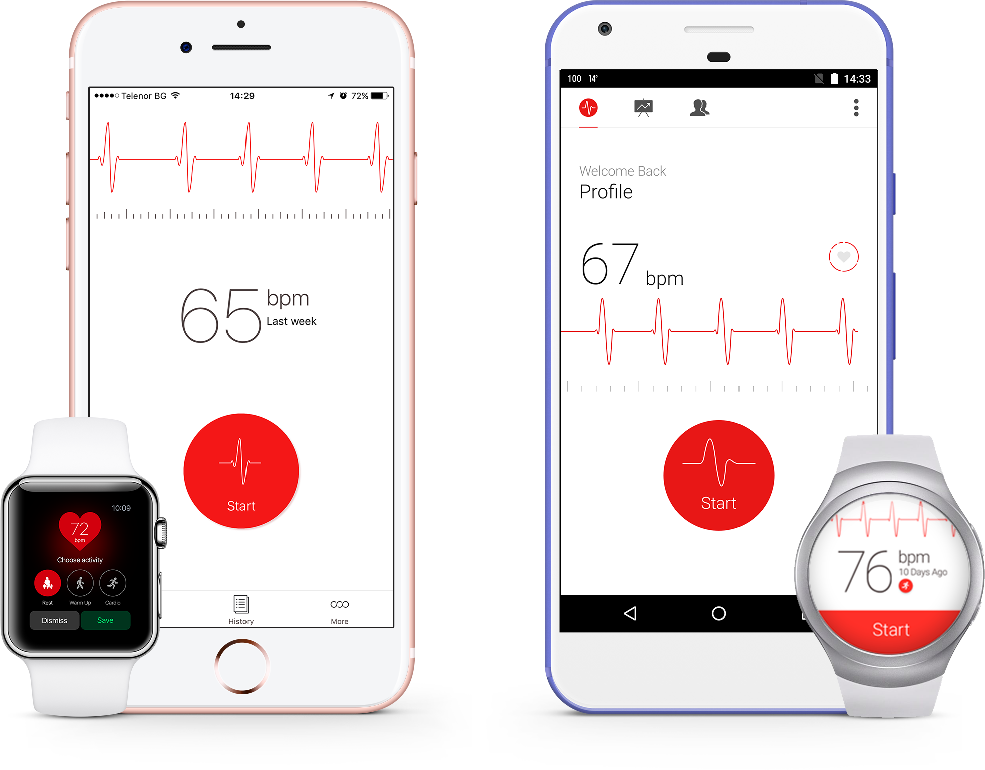 Cardiograph is available for Android and iOS.