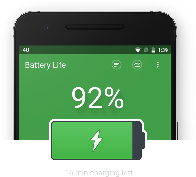 Next Battery is available for Android.