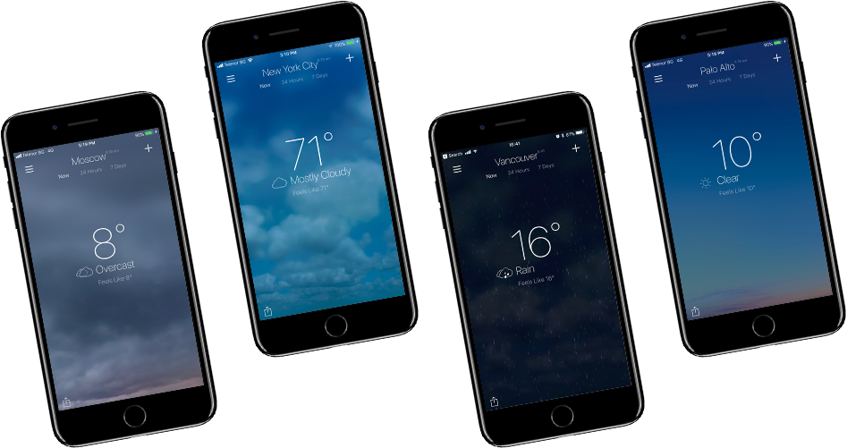 NextWeather is available for iOS.
